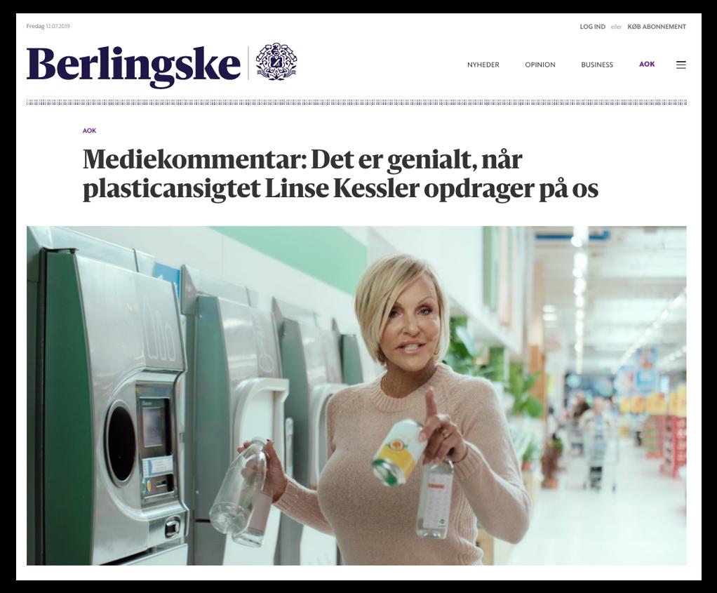 """Media Comment: It is brilliant when the plastic face Lens Kessler educates on us"""