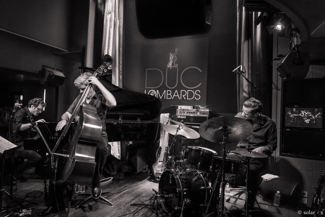 It's been a killing week of music playing trio with @kyleeastwood and @chrishigginbottom at the @ducdeslombards thank you Paris as always