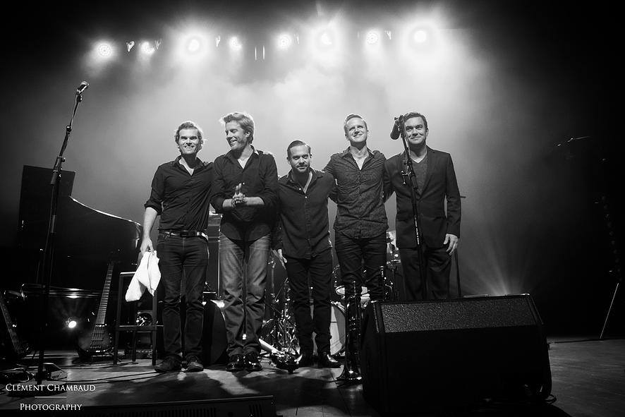 Andrew McCormack with The Kyle Eastwood Band, Marciac France, 2016.
