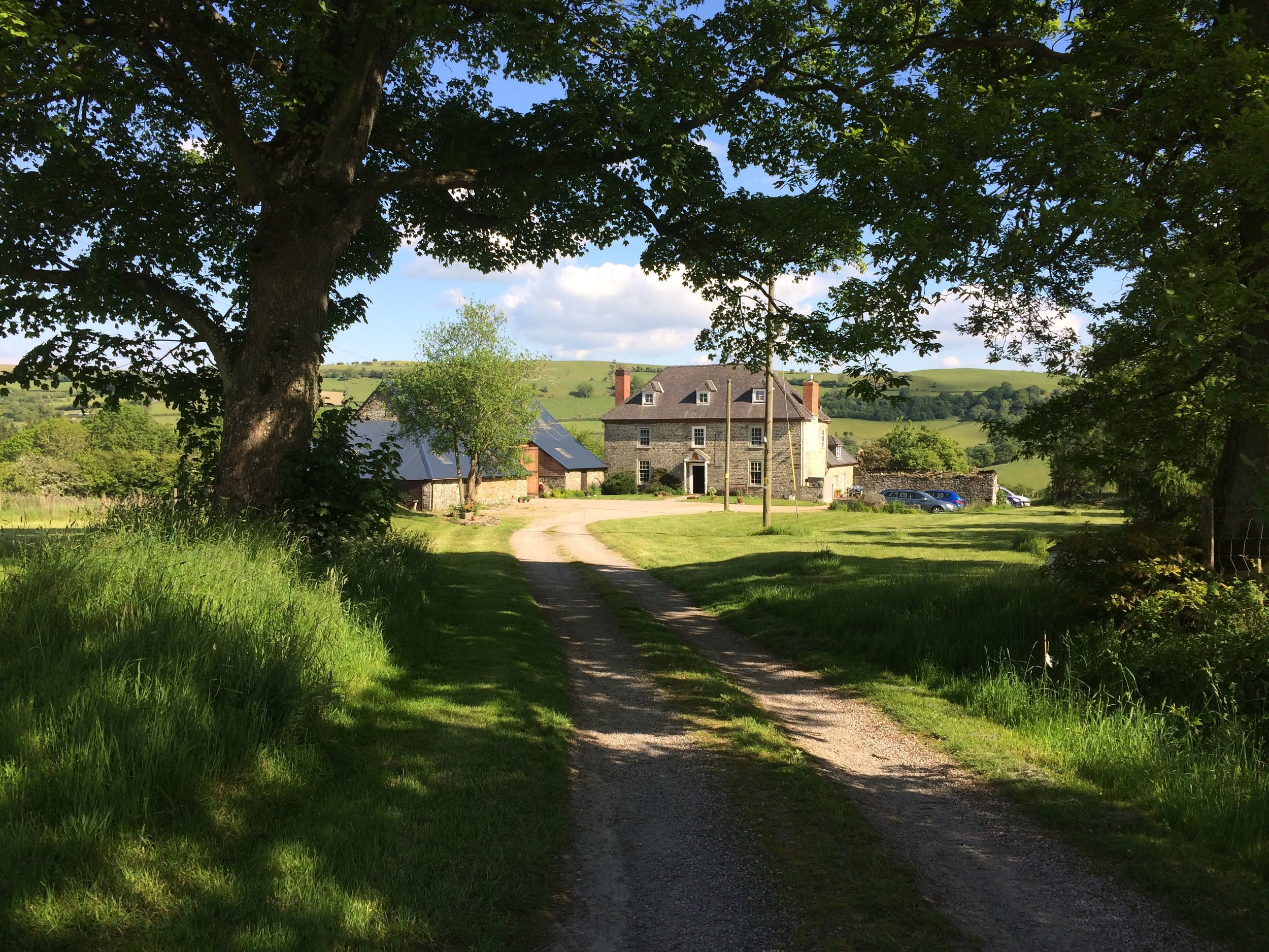 Courses take place from our Georgian home in rural mid-Wales not far from Hay-on-Wye