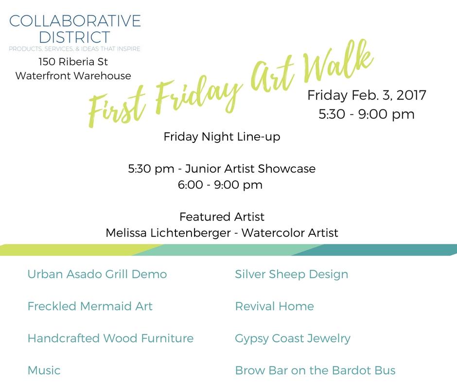 Collaborative District Art Walk Showcase