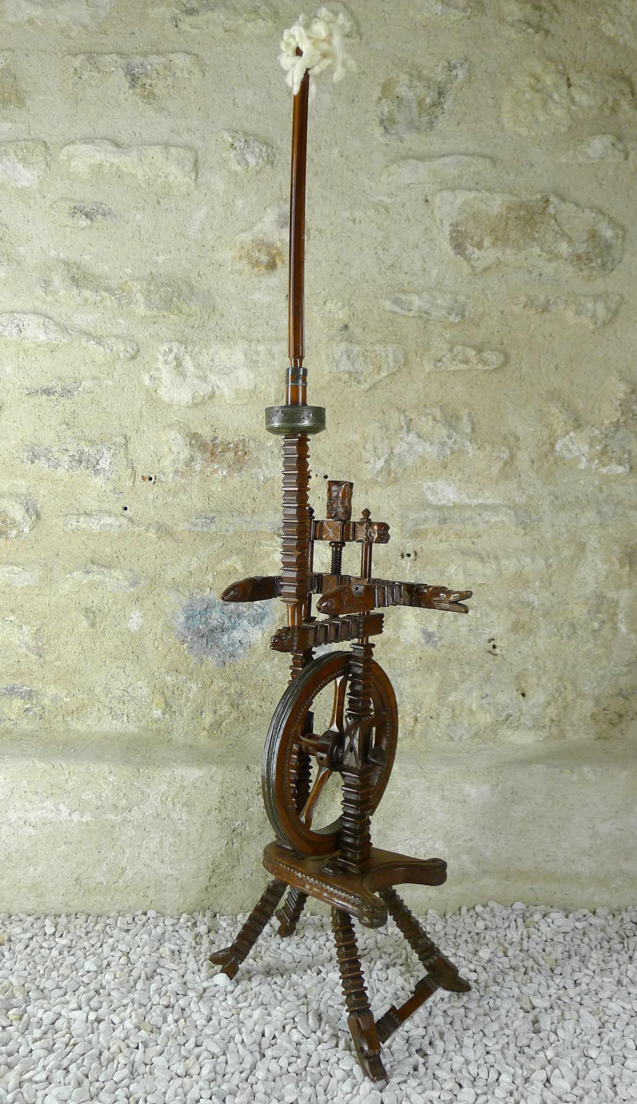 rouet sculpte bas rhin