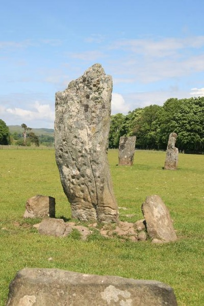 Nether Largie Standing Stones in the Kilmartin Glen