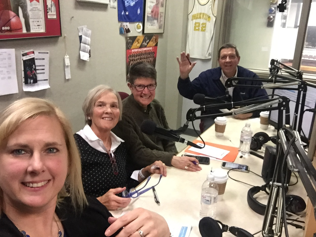 Dr. Julie Leeth, Becky Oakes, and Greg Stephenson