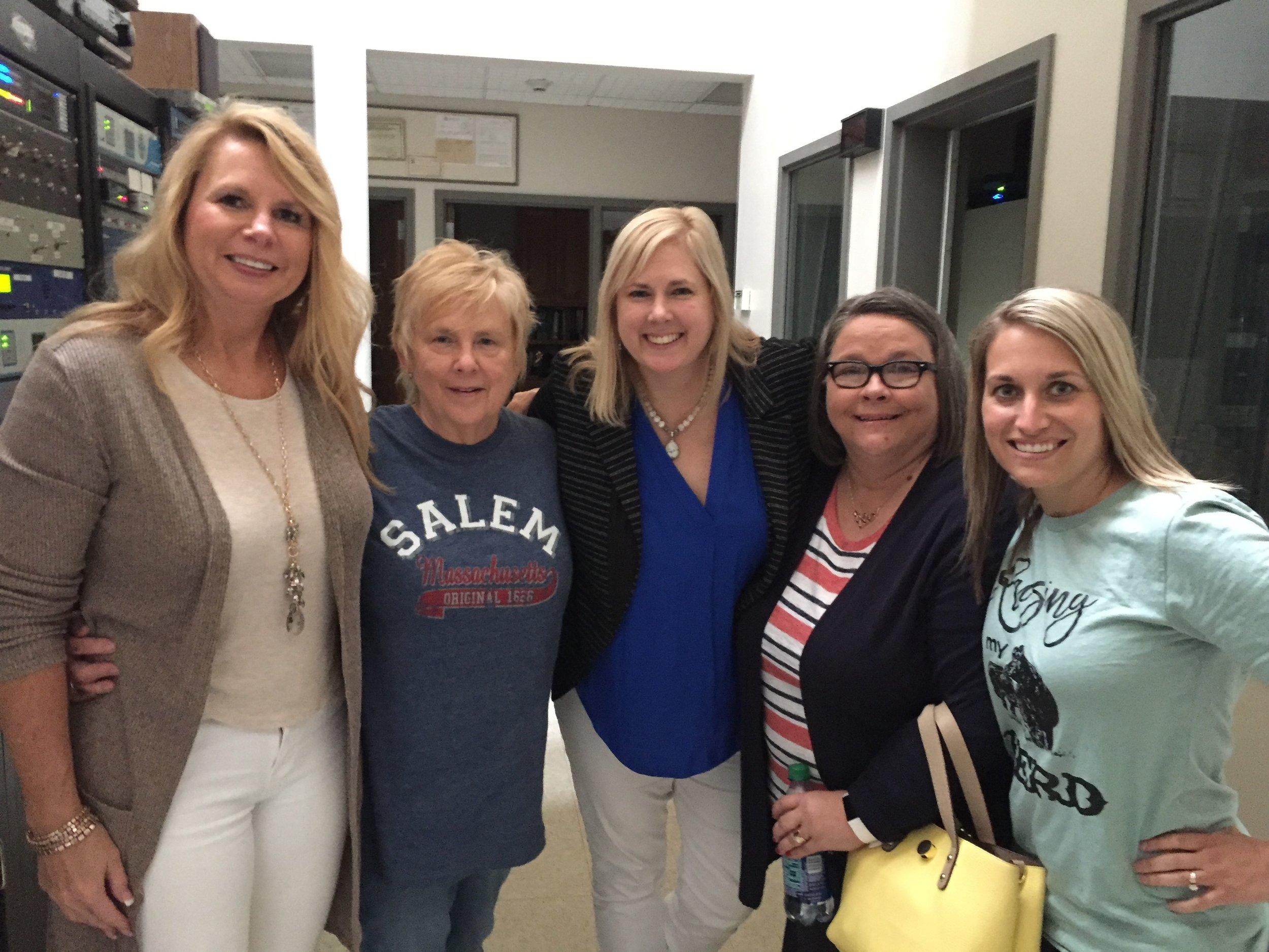 Beverly Ramsey, JoBelle Hopper, Dawn Hale, Jill Widel