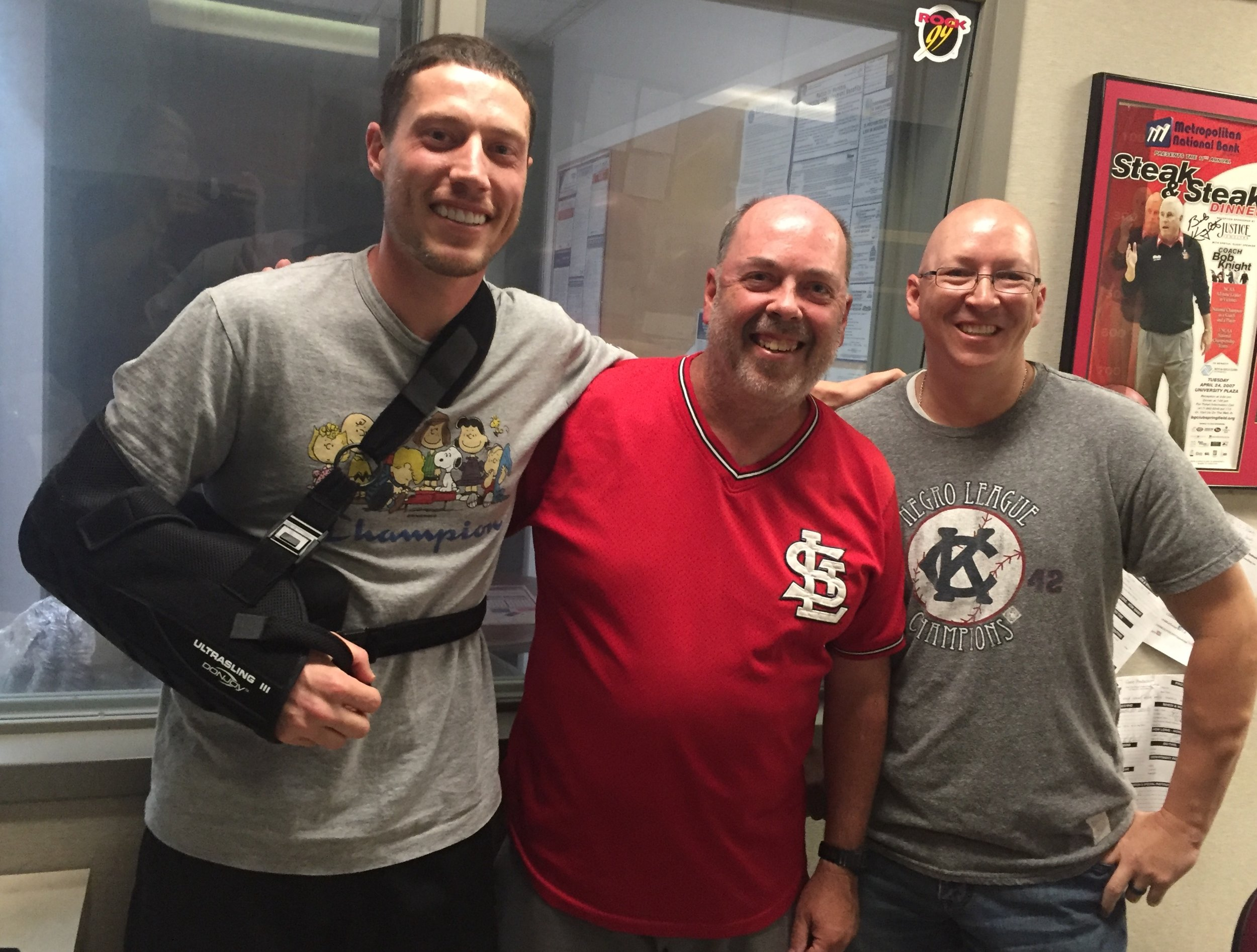 Lucas Harrell, Don Louzader, and Ethan Bryan