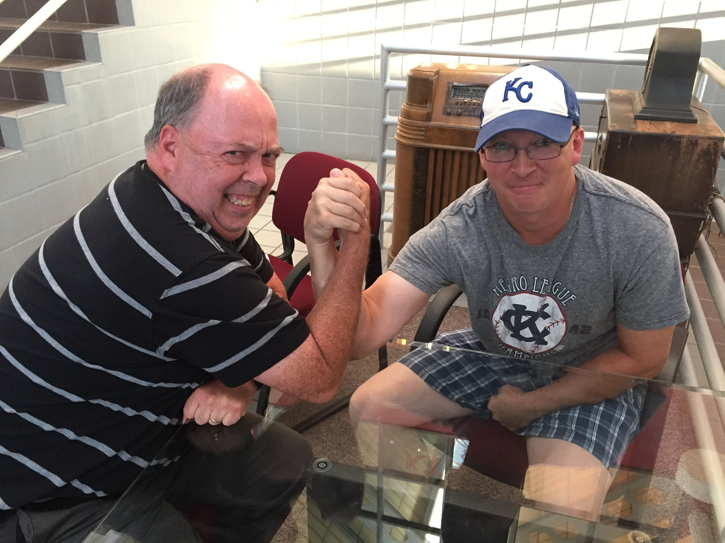 My Cardinals (Don Louzader) and Royals (Ethan Bryan) correspondents duke it out on the night the Cardinals and Royals play.