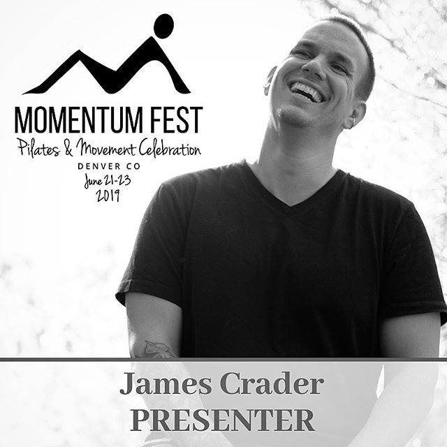 Momentum Fest: Join me and many amazing teachers this June (21-23) as we celebrate movement and community. .. * * I'll be teaching MoveLab and a class I'm calling Modern Pilates: How your body expresses the shapes of Pilates. @chantilllopez and I will also be presenting a short class on The Vagus Nerve. . ** ** If you're feeling super adventurous why not stay for Shift Happens in June 24th? @anulamaiberg and I will teach our faces off and take a bunch of weird selfies with you. . * * * @momentumfest #momentumfest #momentumfest2019 #justmove #modernpilates #physicalthinking #pilates #pilateslovers #pilatesteacher #pilateslife #pilateseveryday #igpilates