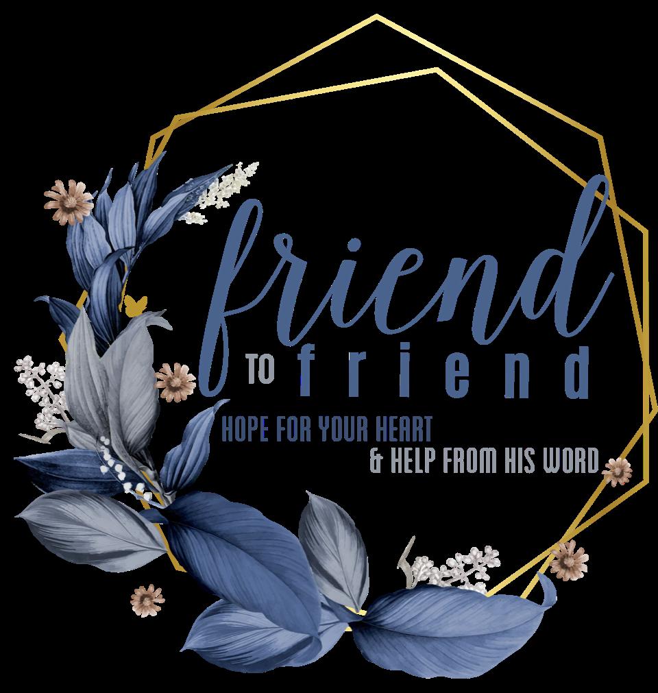 Friend to Friend Podcasthttps://friend2friend.home.blog -