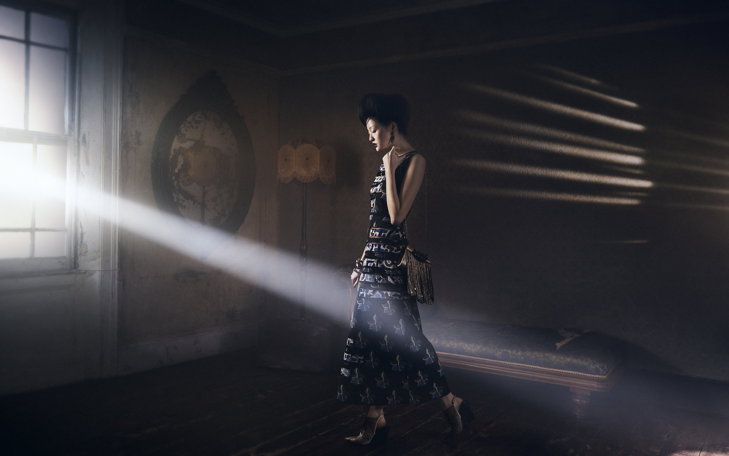 Fendi / Giorgio Armani / George McLeod / Luxure Magazine