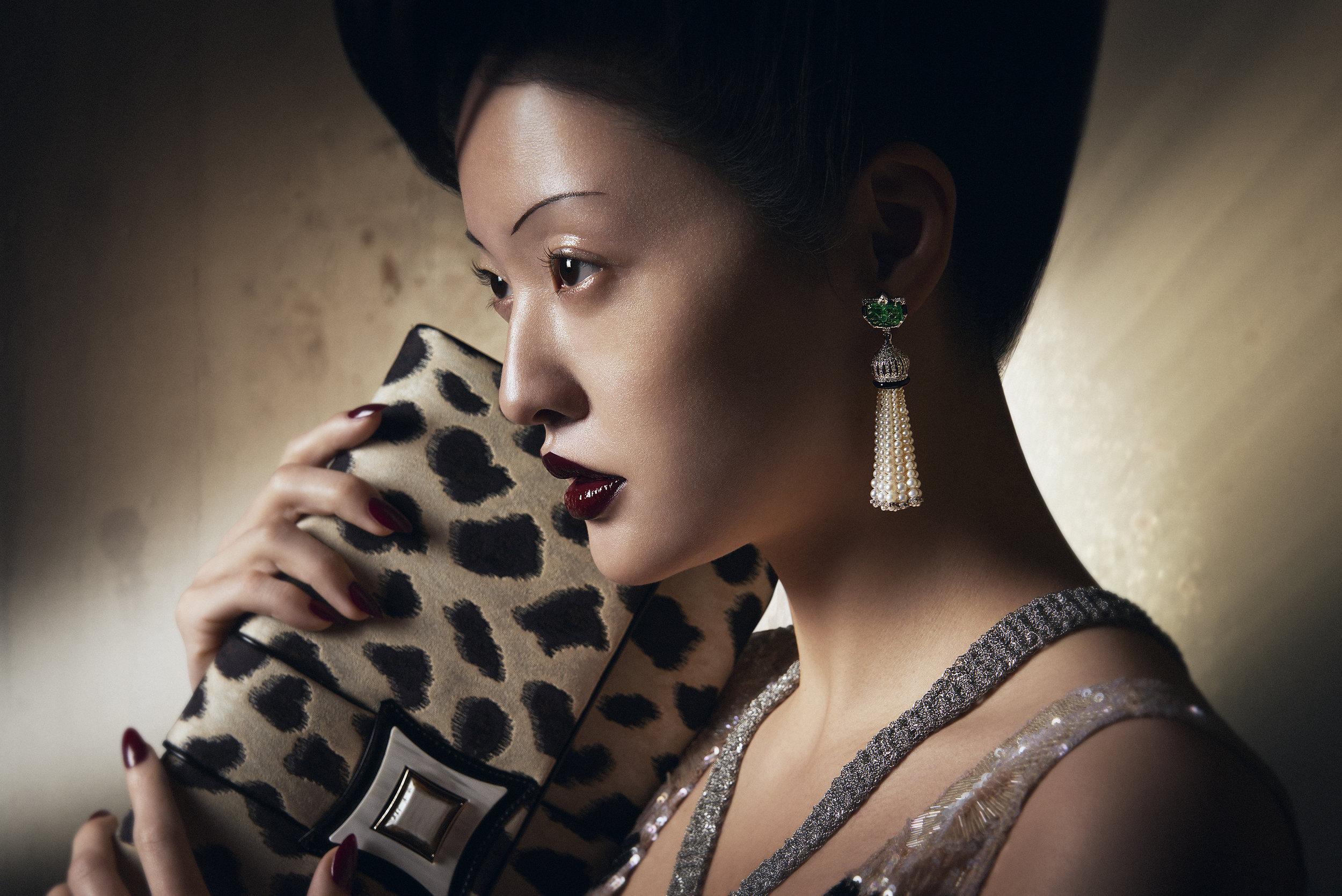 Giorgio Armani / George McLeod / Luxure Magazine