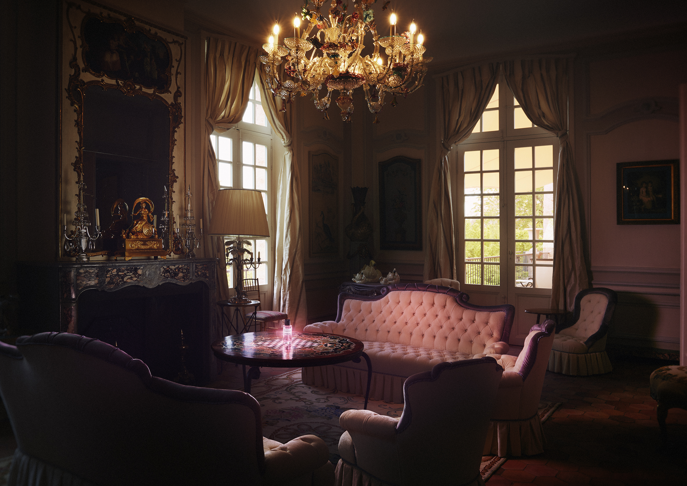Christian Dior, La Colle Noir / George McLeod / Luxure Magazine