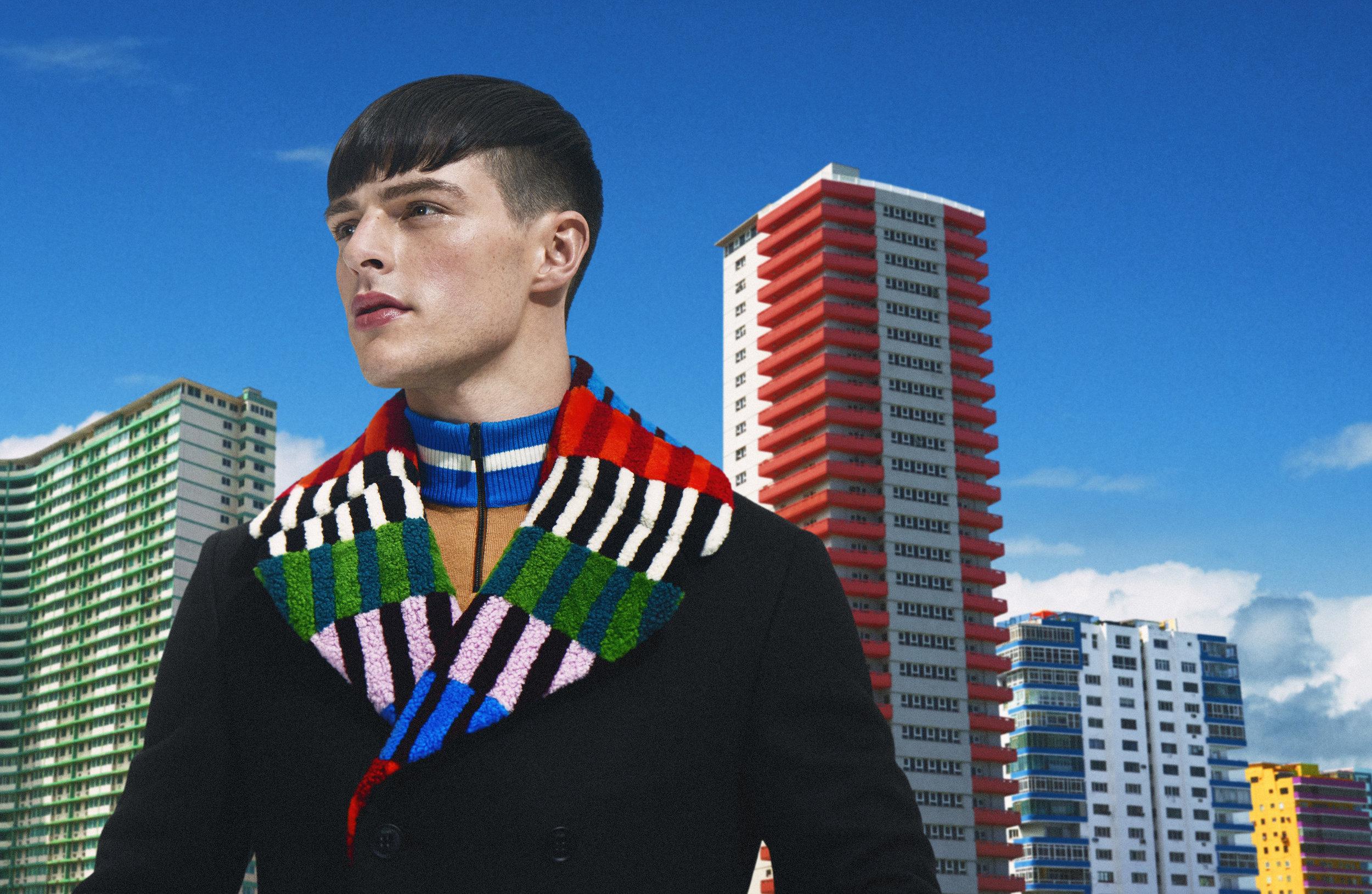 Fendi / Luxure Magazine / George McLeod