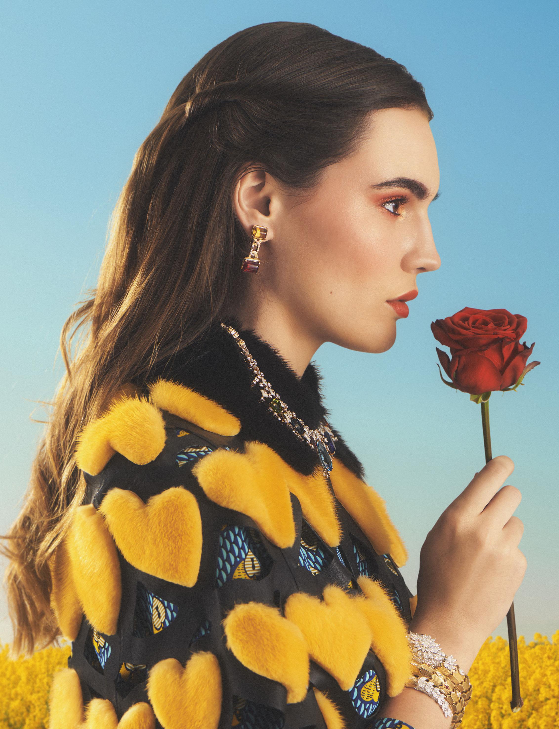 George McLeod / Fendi & Bulgari / Luxure Magazine