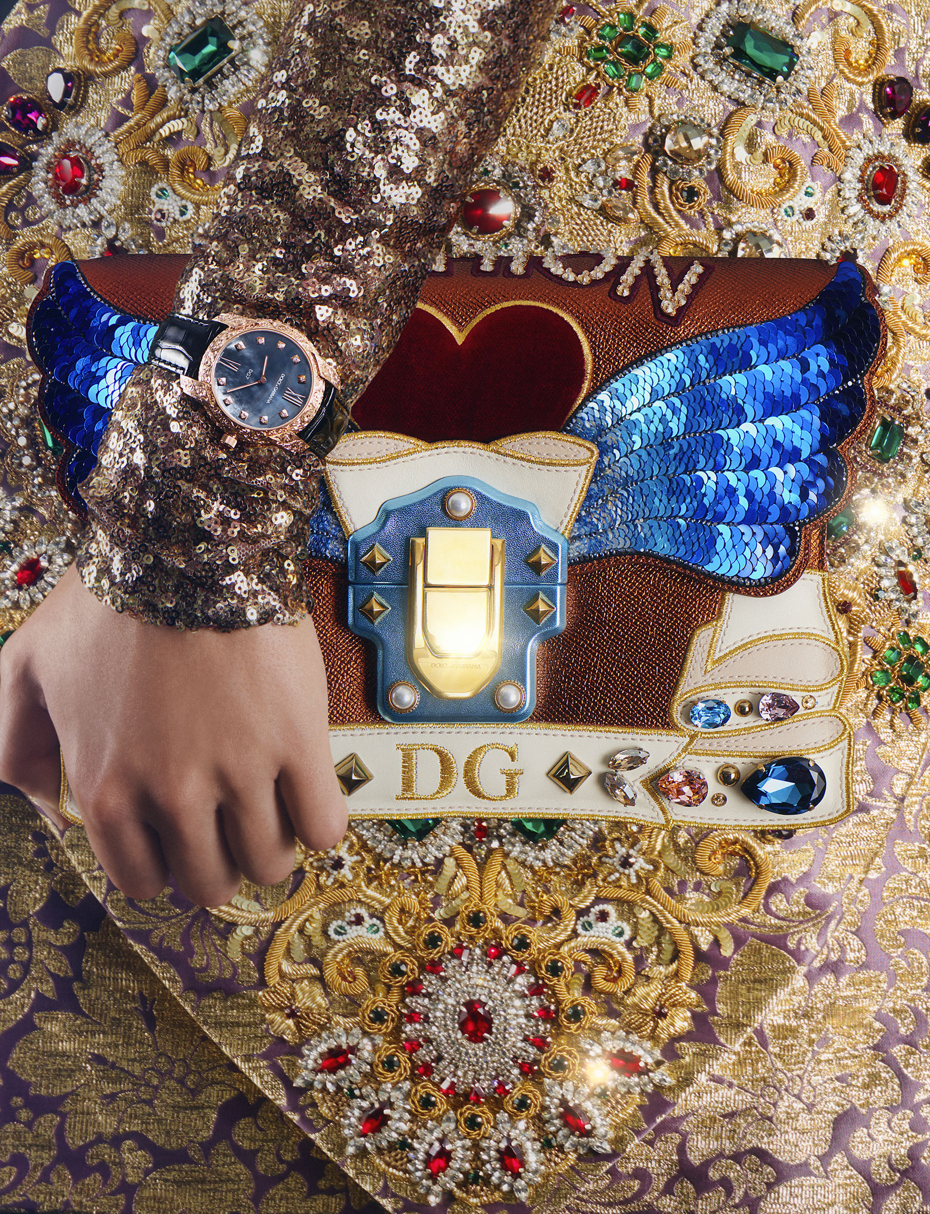 D&G / George McLeod / Luxure Magazine