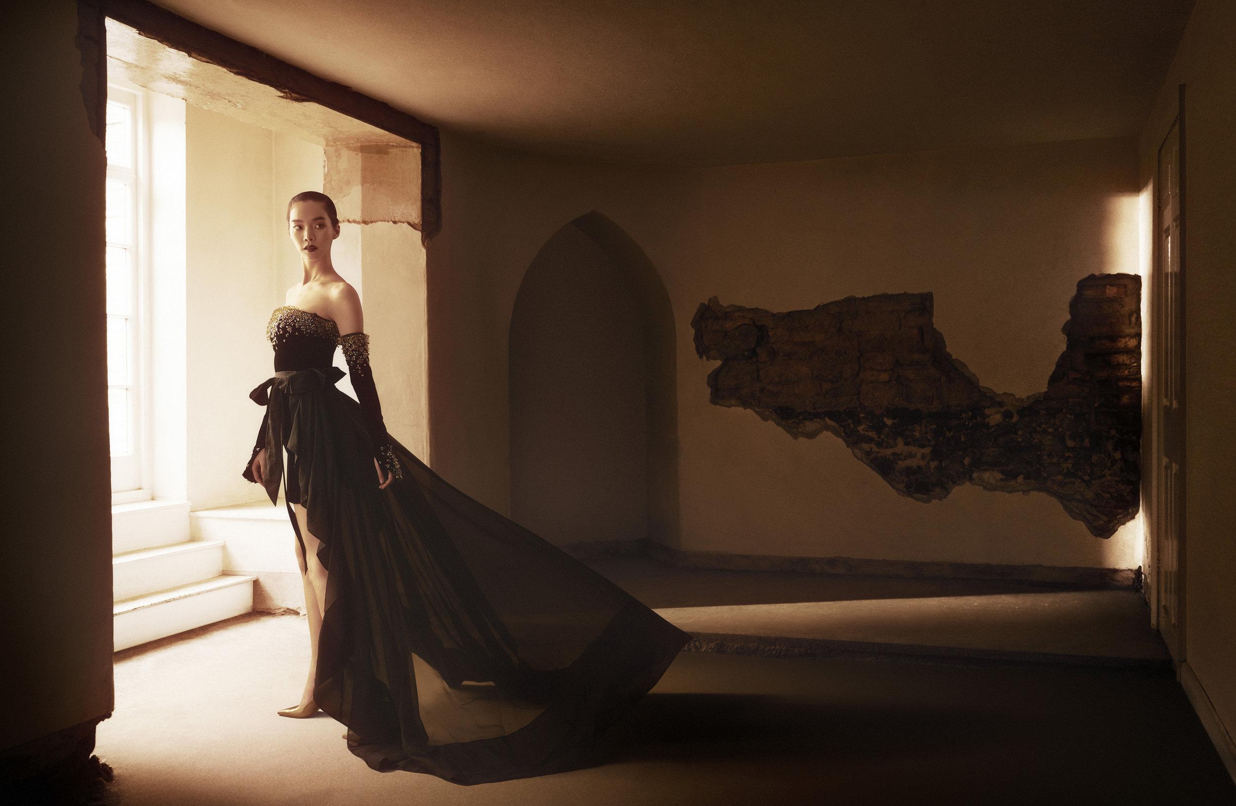 Ralph&Russo / Luxure Magazine / George McLeod