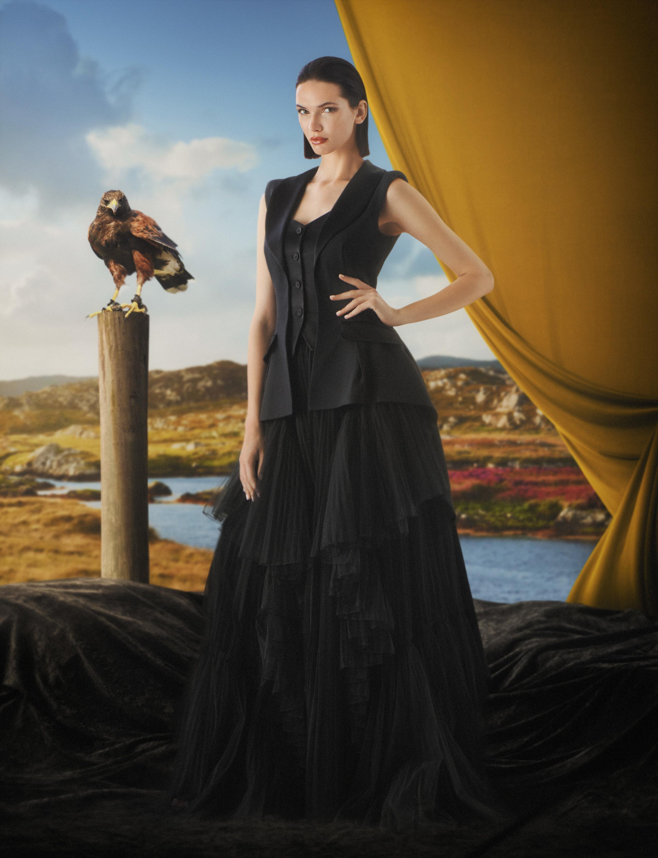 George McLeod - Alberta Ferretti - Luxure Magazine