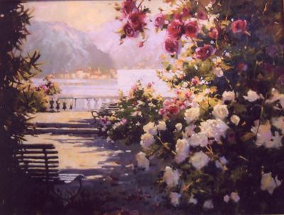 Spring at Lake Como