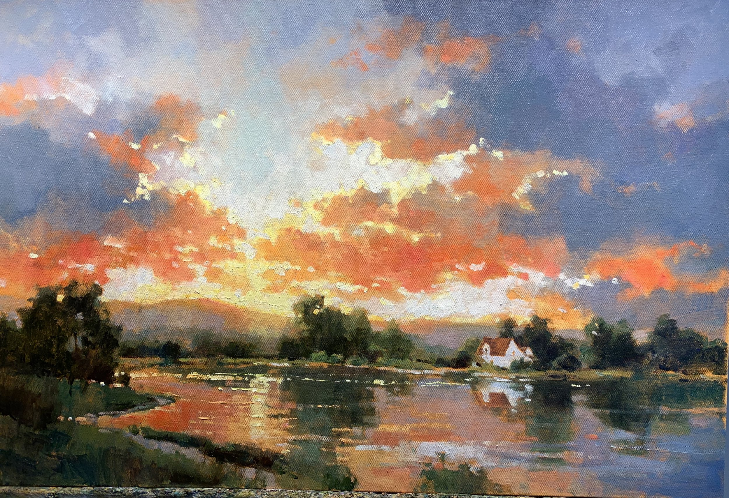 Alabama Sunset 20 x 30