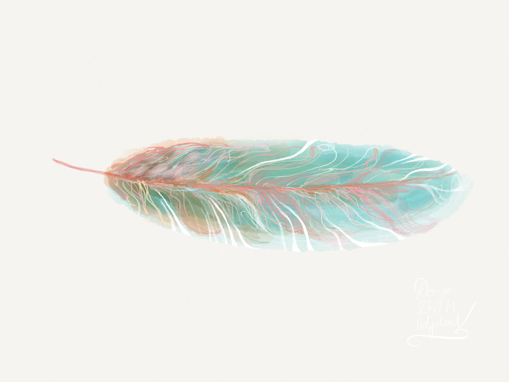 feather no.1 by dorija apple parslex