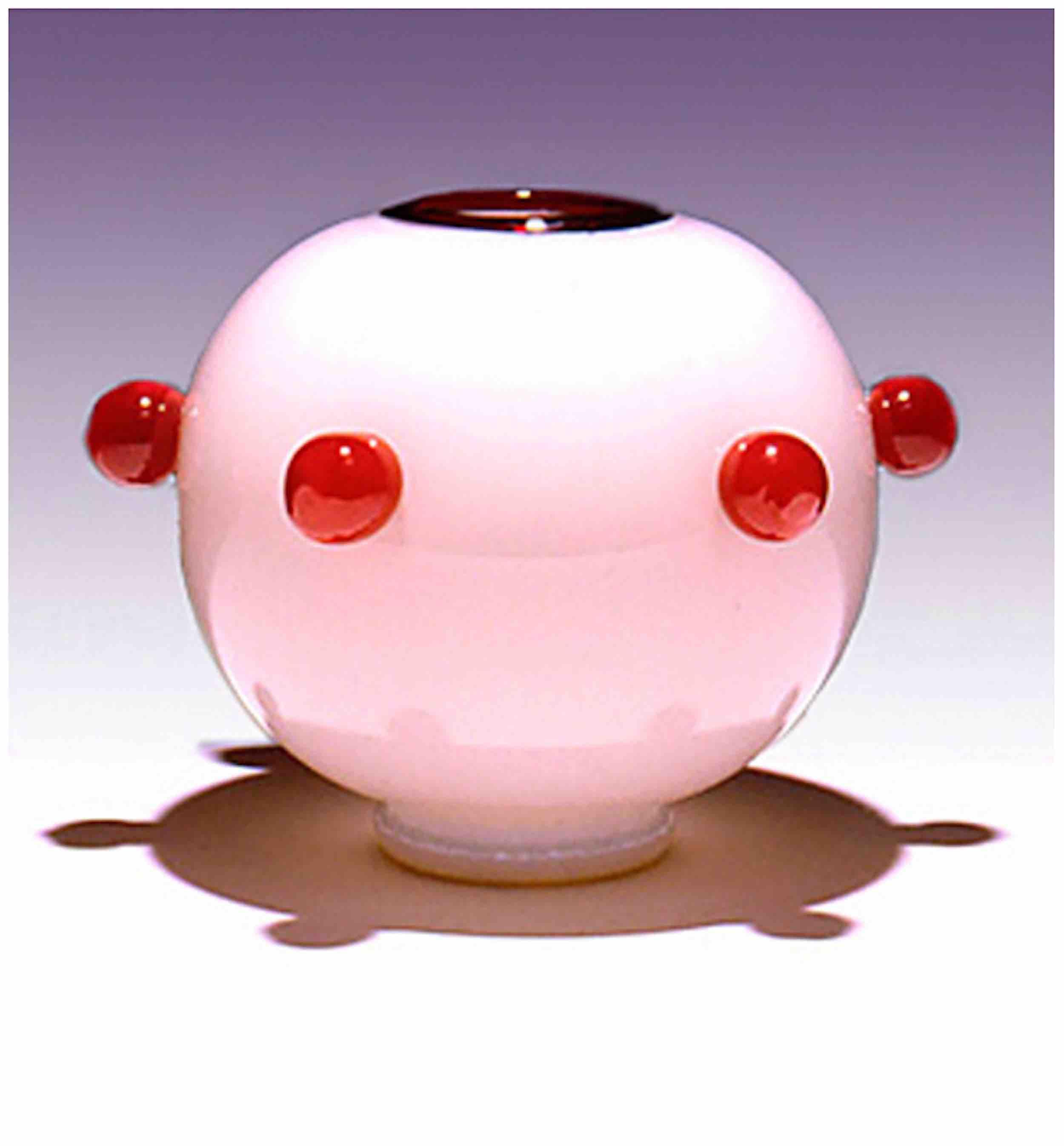 """Cherry"" bowl, 7"" x 8"""