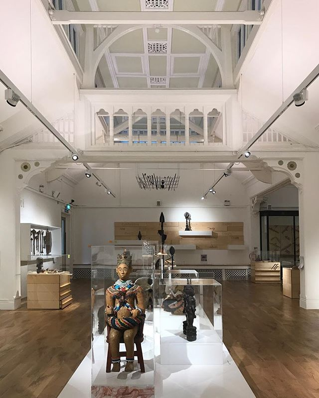I don't often get to Derby so decided to have a good wander after a meeting and stumbled on this wonderful building. It's the Derby Museum and Art Gallery.