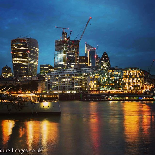 Walking along the River Thames. I'm going to miss these warm summer evenings.