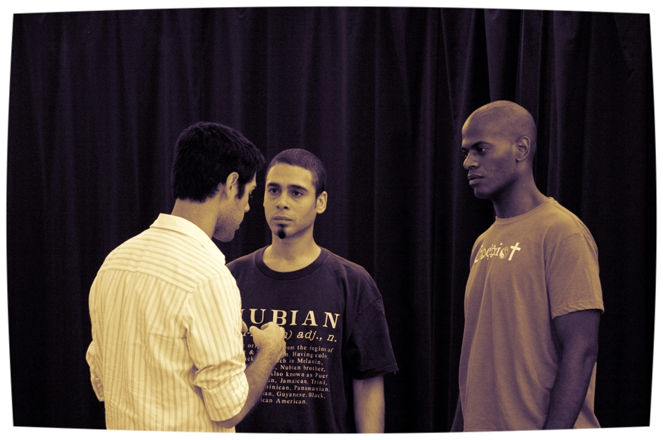 Directing TONY® Award-Winner Wilson Jermaine Heredia and Eric Jackson in TALES FROM THE TUNNEL.