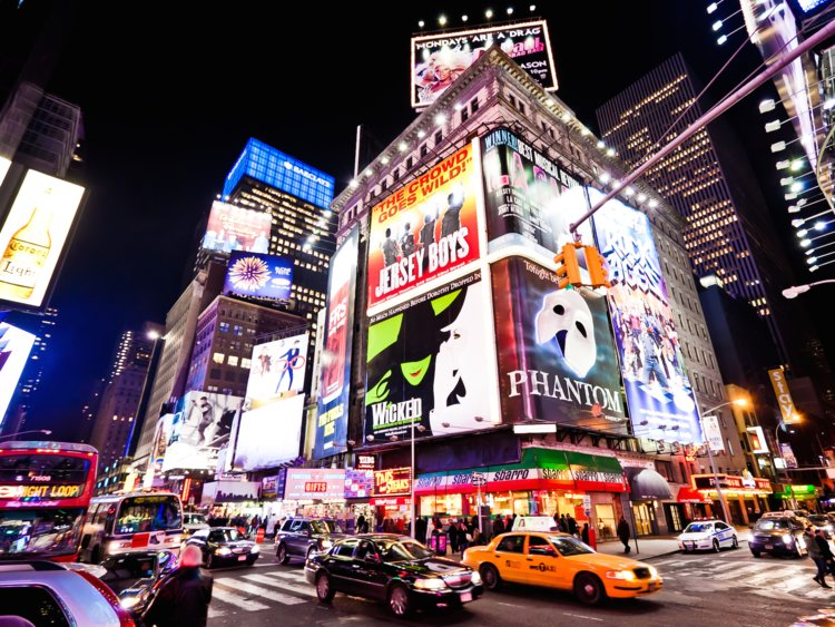 broadway - Put on your dancing shoes, it's time to hit the stage! Add some sparkle to your trip by attending a local show, broadway or not, everyone could use a song!