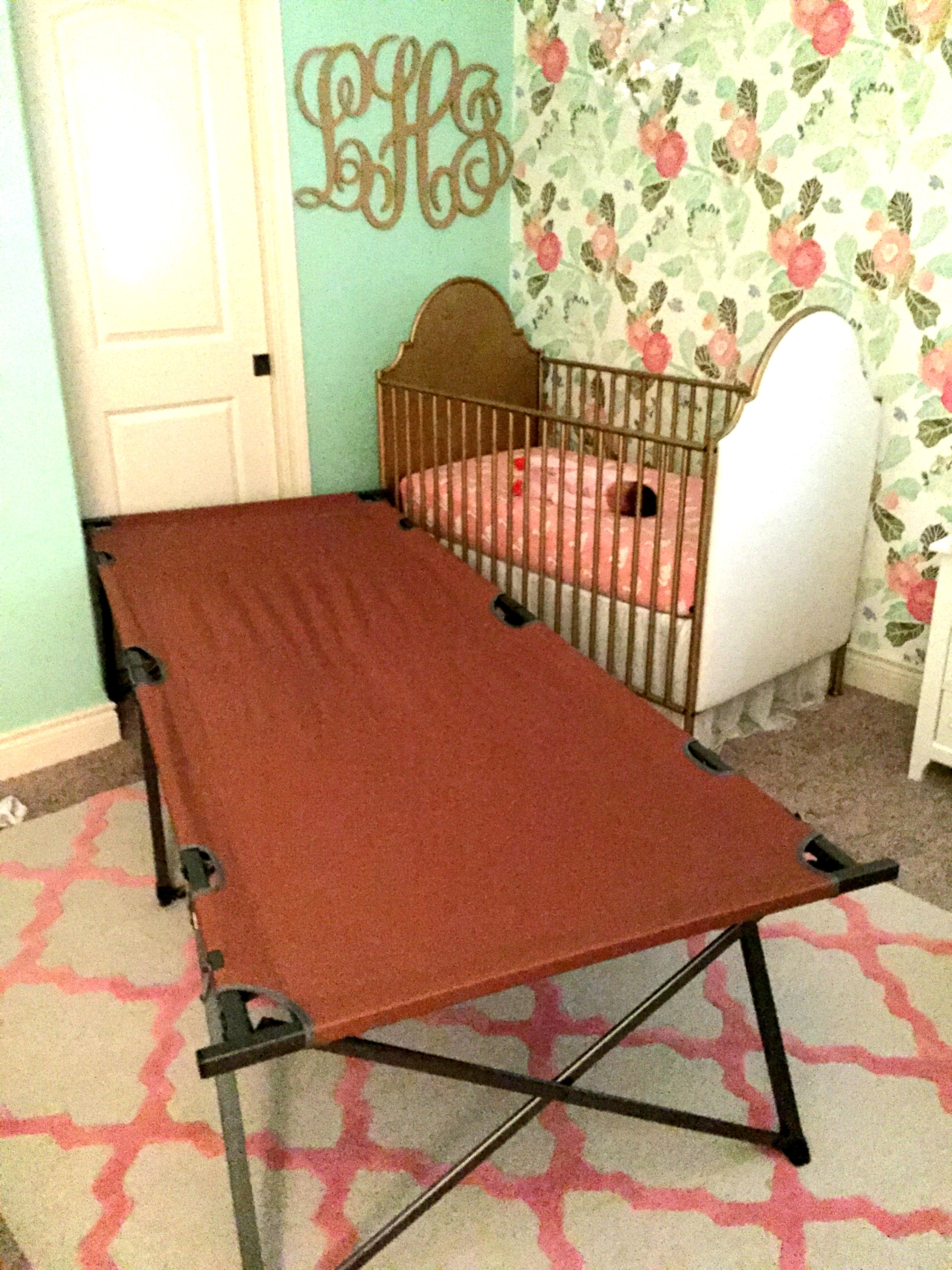 The army cot. I don't even know.