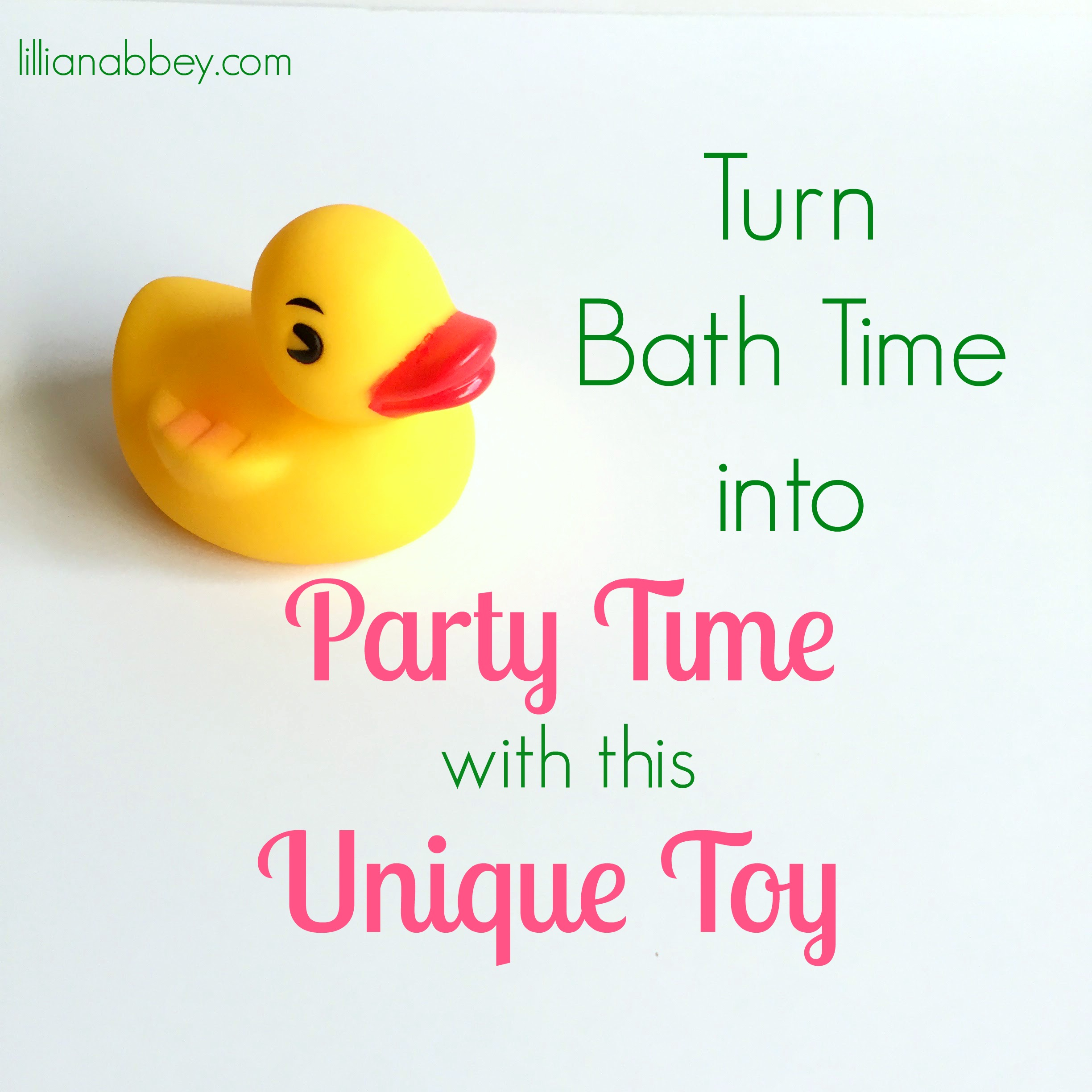 Make Bath Time Party Time with this Unique Toy