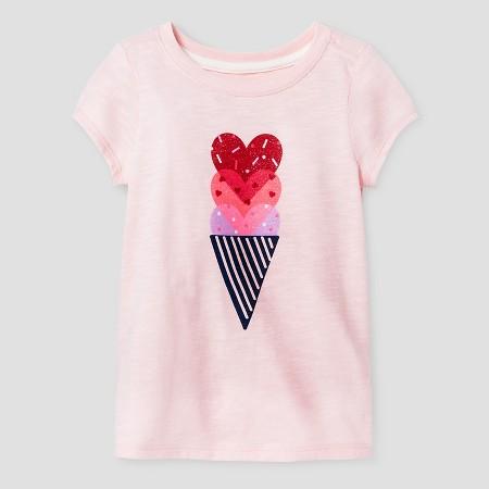 Heart Ice Cream Top