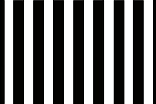 b&w striped outdoor rug