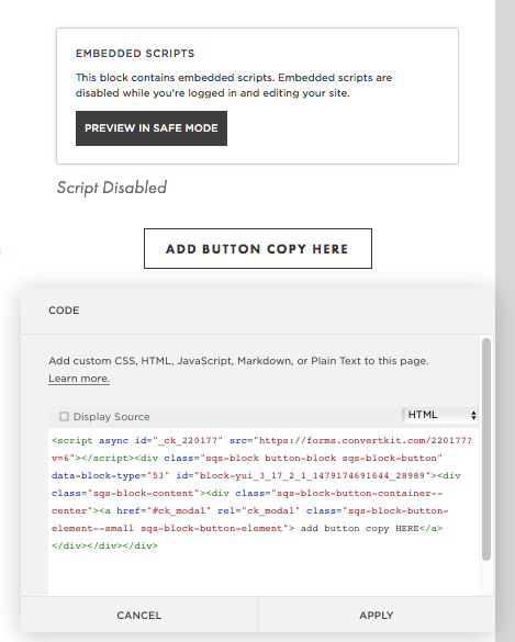 How to add code to make your convertkit opt in look like a squaresapce button.png.