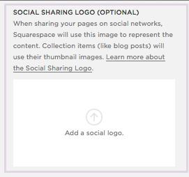 add a social logo