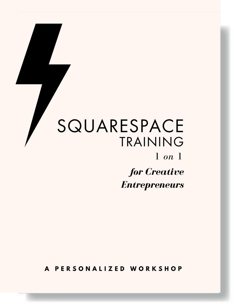 Squarespace 1 on 1 Training