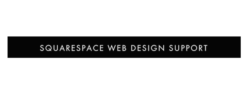 squarespace web design support