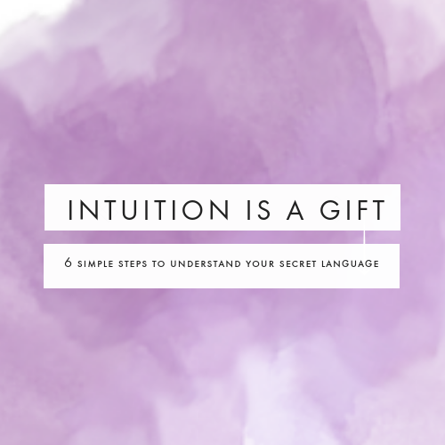 intuition is a gift workshop