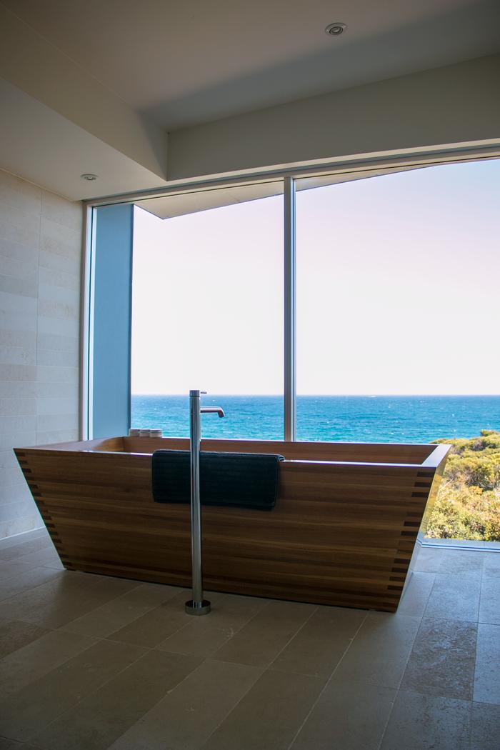Timber bathtub of dreams plus three milk soaks to choose from