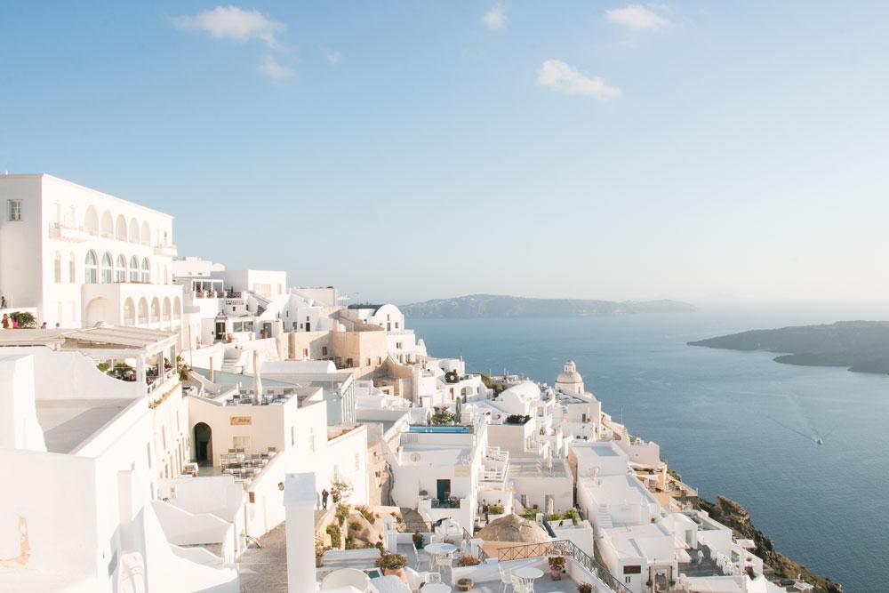 SANTORINI, GREECE -
