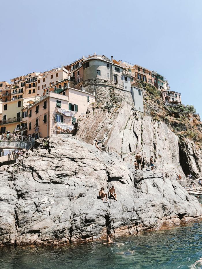 Post rock jumping views.