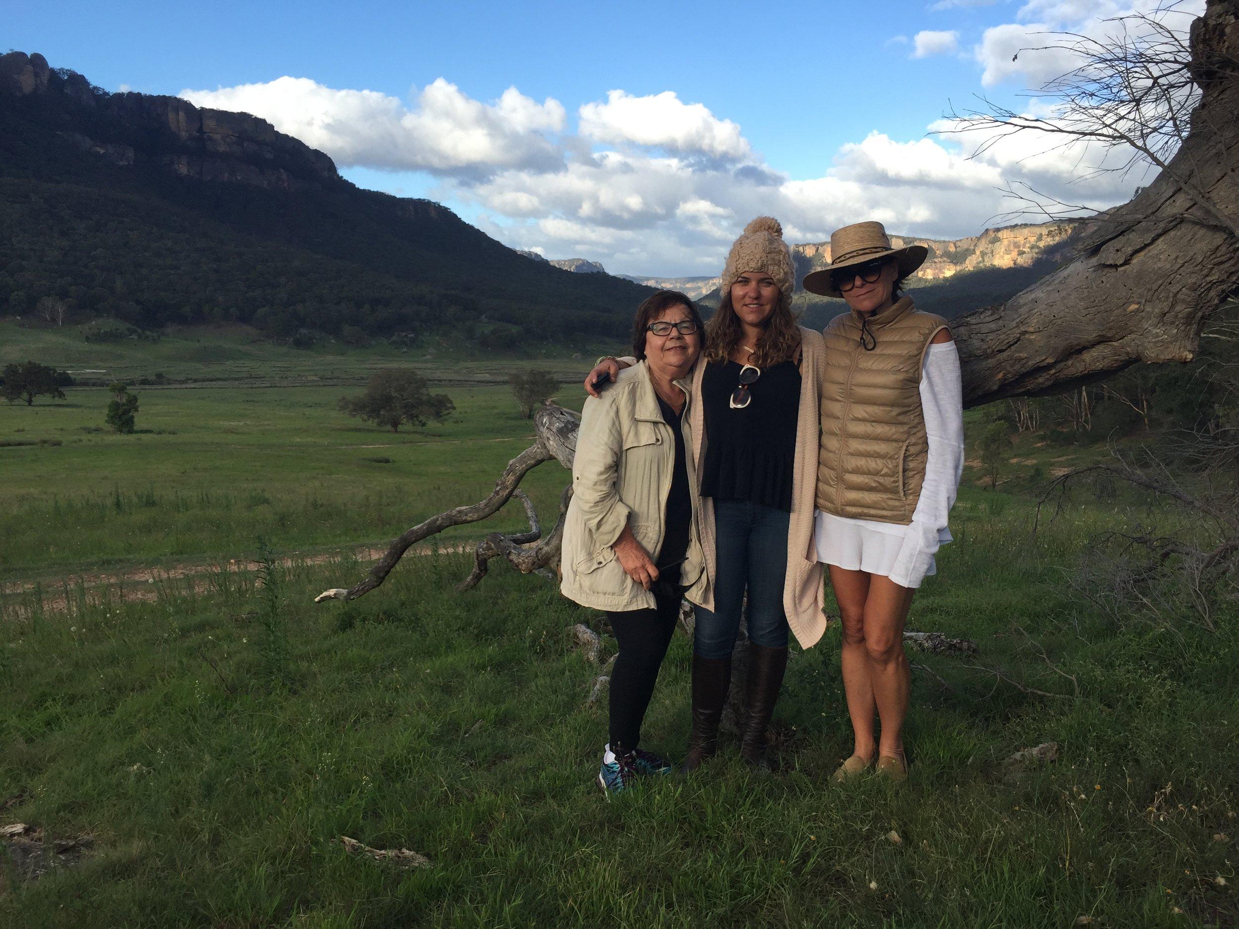 THREE GENERATIONS in the OUTBACK