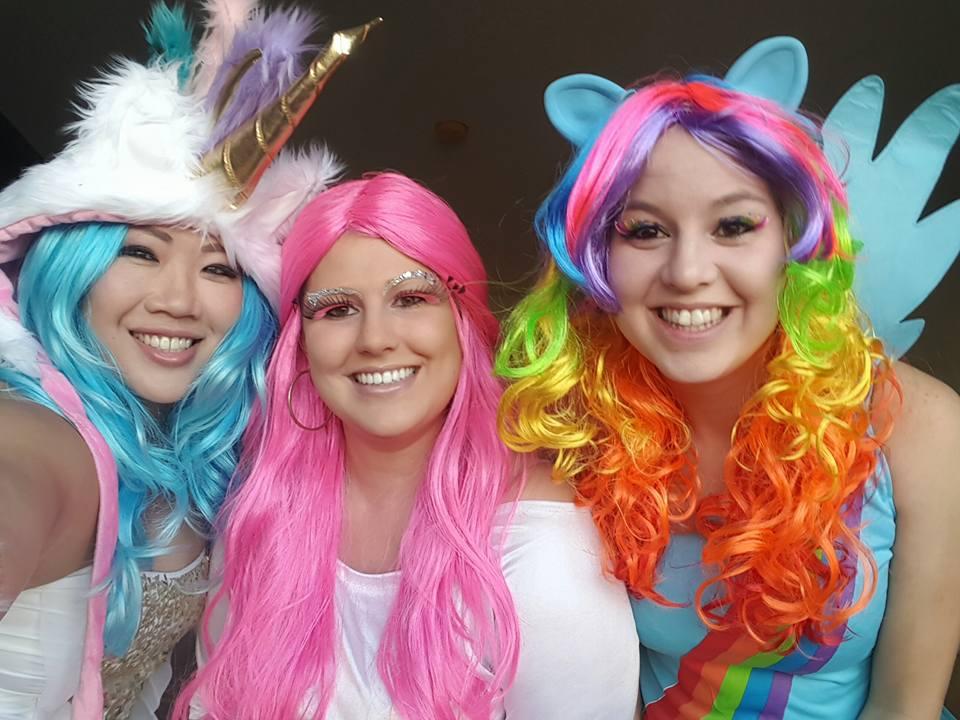 ACTSS Halloween Extravaganza 2015 - Joyce, Nicole & Amanda - My LITTLE Ponies