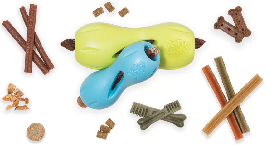 The Best Toys in town - Durable and Environmentally concious- such as Westpaw & Planet Dog