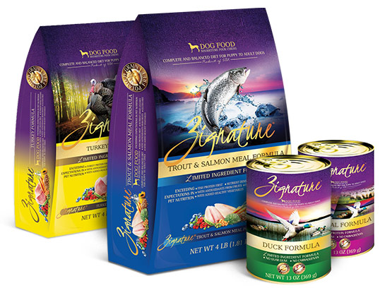 The best in kibble choices - Zignature - Stella & Chewy's, Fromm and Acana/Orijen