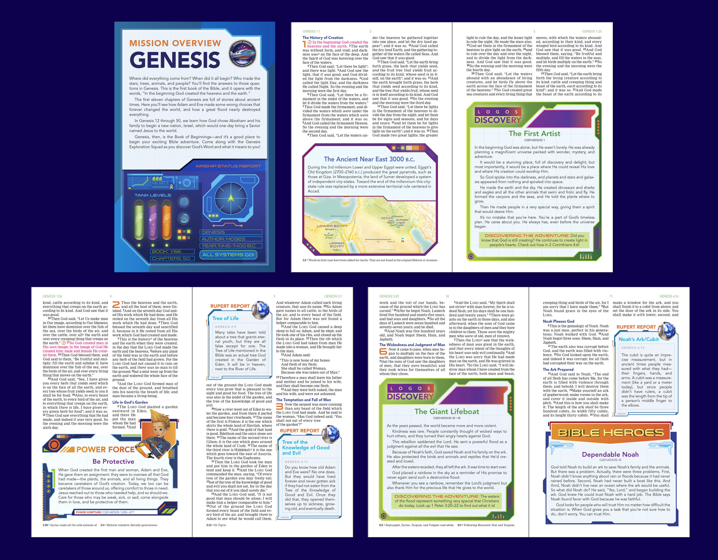 Bible Interiors  - Graphic Design