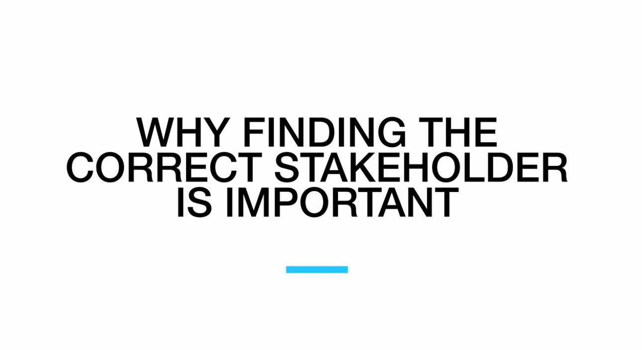 Finding the Right Stakeholder to Email | Lead Generation Machine | Sales