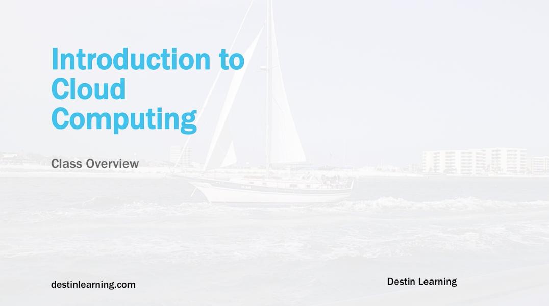 Introduction to Cloud Computing and Amazon AWS