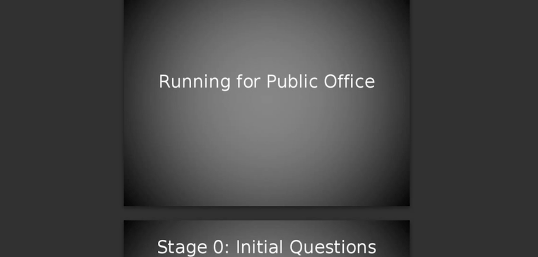 Running for Political Office