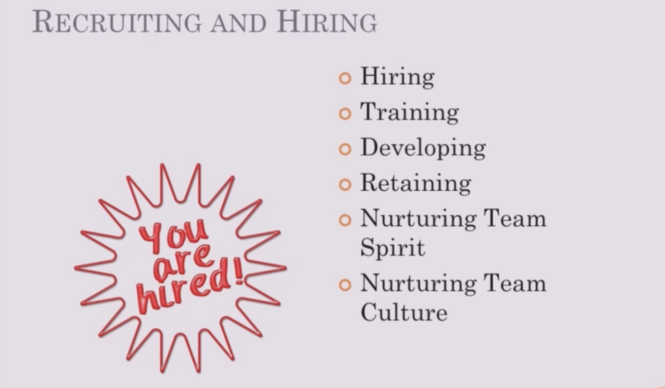 Skills For New Managers: Recruiting, Interviewing and Hiring